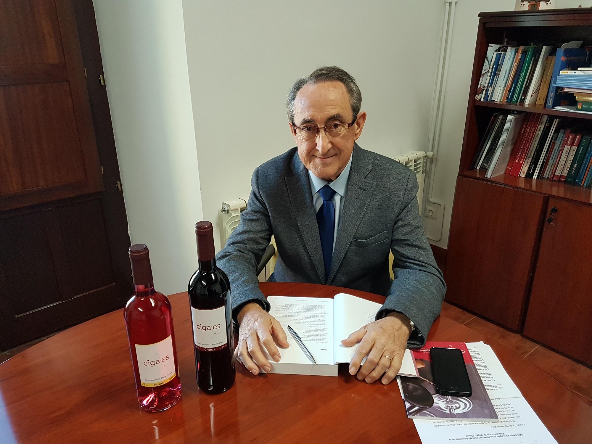 Julio Valles es elegido presidente del Consejo Regulador de la Denominación de Origen Cigales