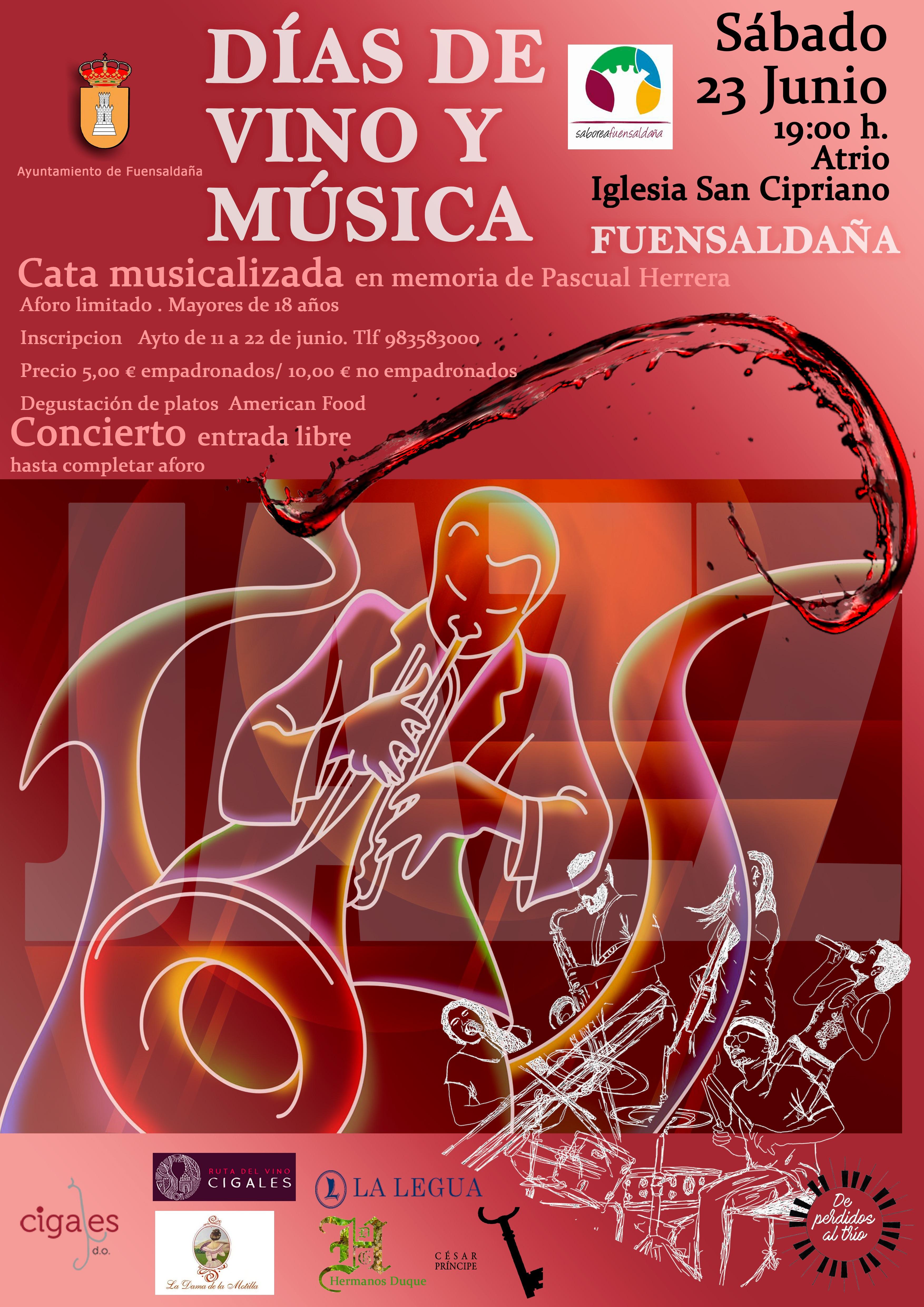 Fuensaldaña vuelve a rendir homenaje al vino y la música en la noche de San Juan