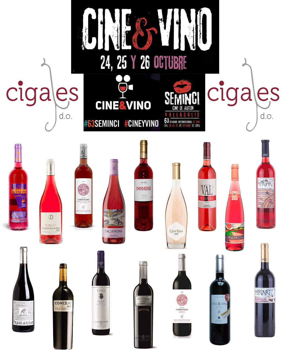 El Ciclo Cine Vino de Seminci se consolida junto a Cigales, Ribera del Duero y Rueda en su 5ª edición