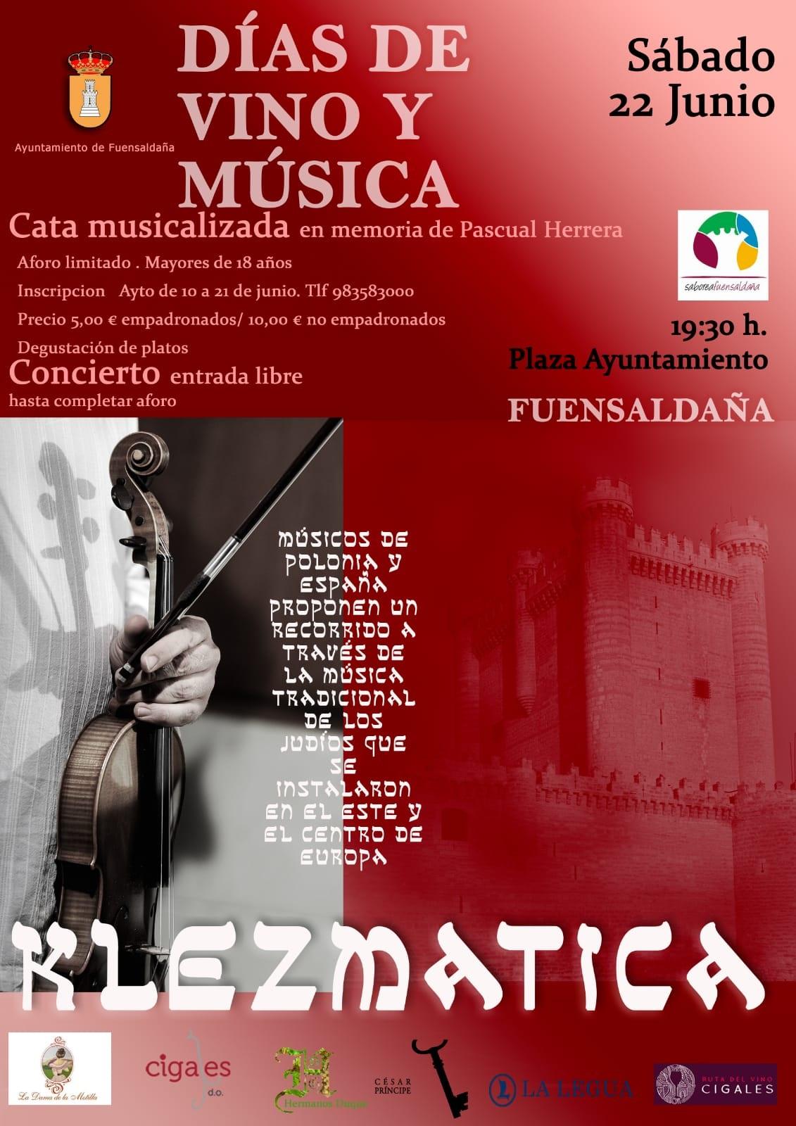 Fuensaldaña acoge la cuarta cata musicalizada en memoria de Pascual Herrera