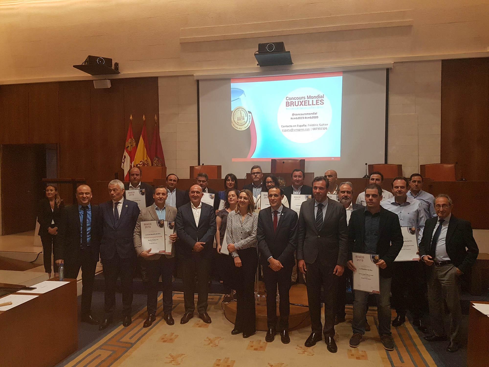 El Mundial de Bruselas entrega sus premios en la Denominación de Origen Cigales