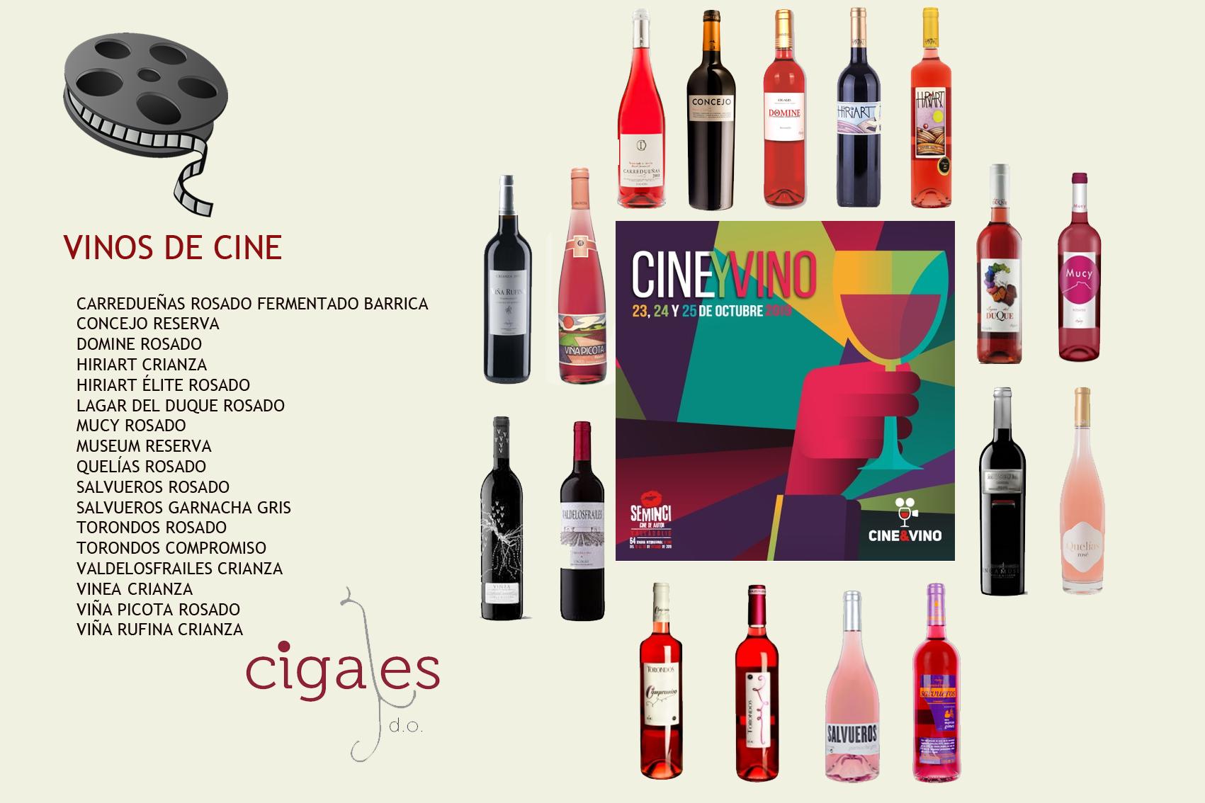 Los vinos de Cigales, Ribera del Duero y Rueda celebran la sexta edición de la sección Cine y Vino