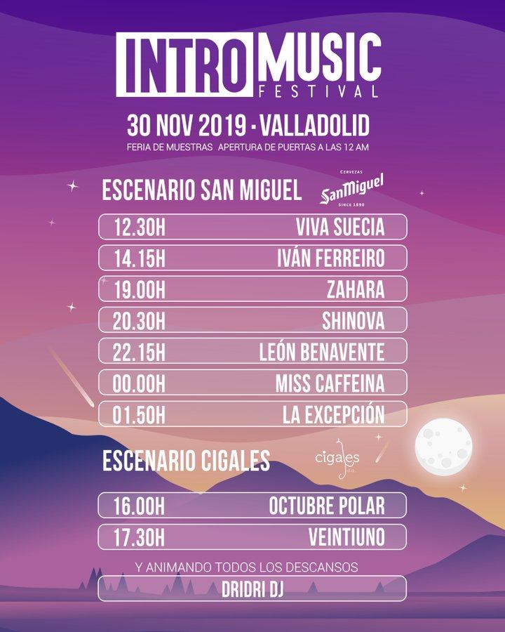 Grandes actuaciones y grandes vinos en la unión de la DO Cigales e Intro Music Festival