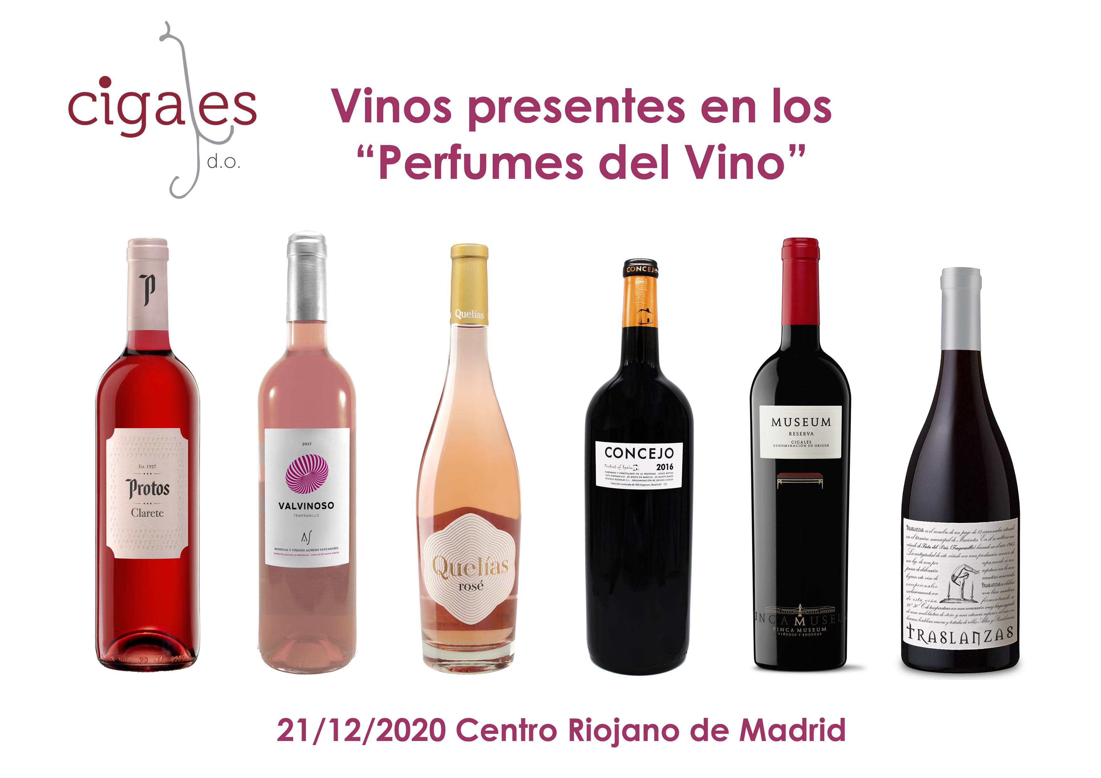 La DO Cigales protagonista del siguiente capítulo  de los Perfumes del Vino de Madrid